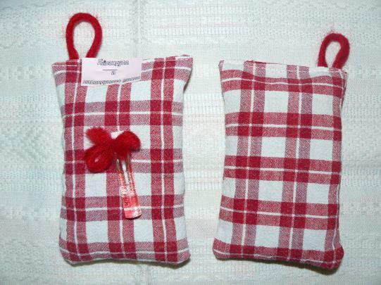 Торбичка с цвят от лавандула и лавандулово масло 2,1 мл