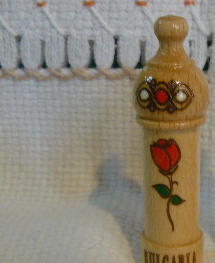 дървен мускал с есенция роза