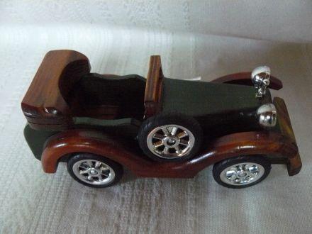 Дървена кола-голяма