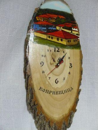 Часовник цветен- около 45см