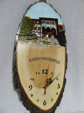 Часовник цветен - около 45см