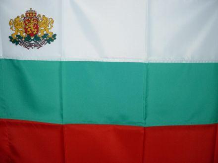 Знаме от полиестер, размер 30/50 см