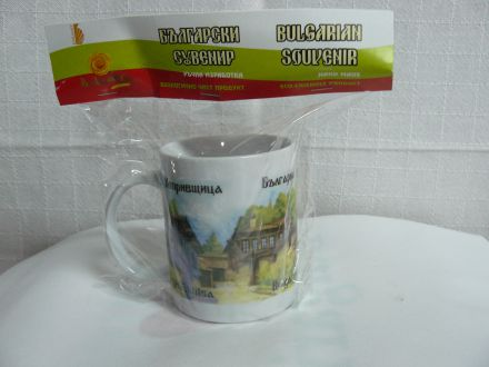 Чаша кафе малка цветна