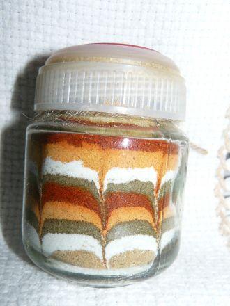 Шарена сол - бурканче