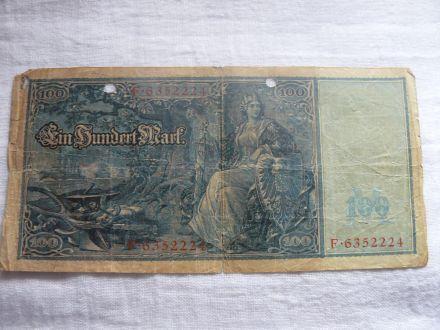 100 германски марки 1910г.