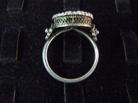 Сребърен пръстен- автентичен