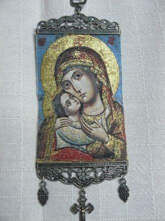 Богородица от Рилския манастир - средна